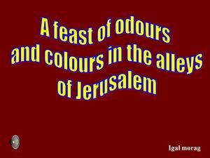 Jerusalem alleys