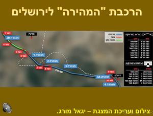 הרכבת המהירה לירושלים