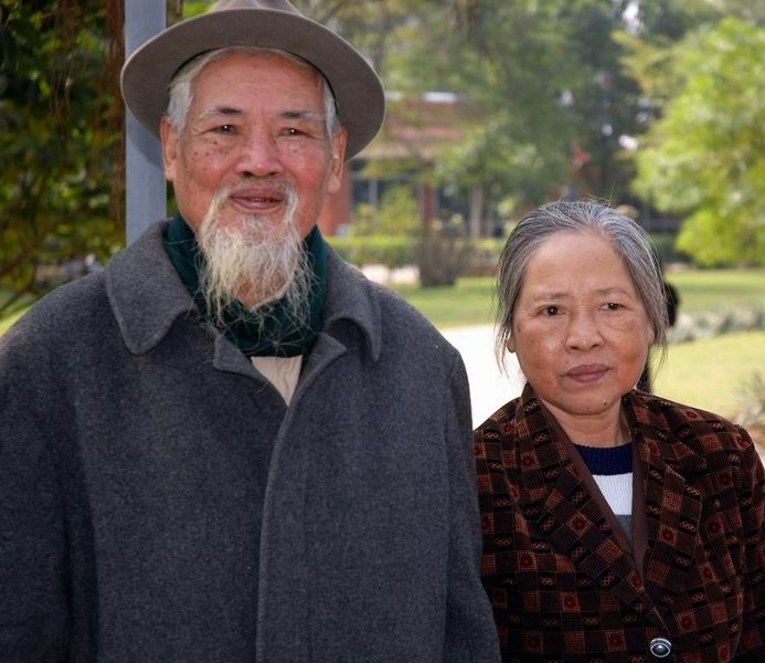וייטנאם - זוג זקנים