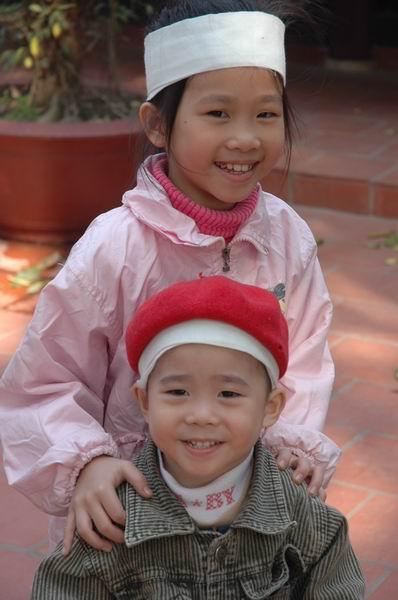 וייטנאם - זוג ילדים