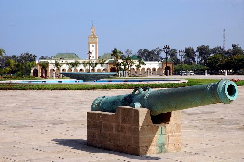 מרוקו - מתחם המלוכה ברבאט