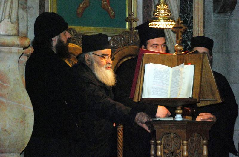 אנשי כמורה ארמנים בכנסיית הקבר