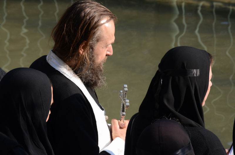 תפילה לפני טבילה בירדן
