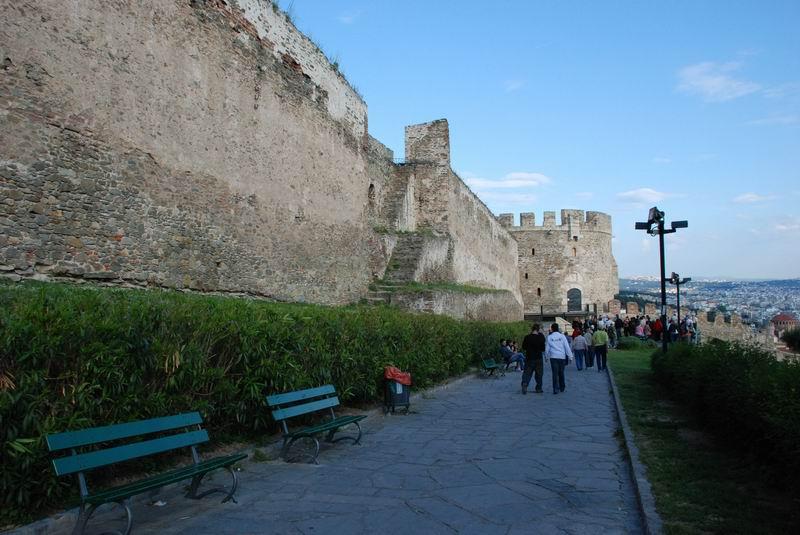 יוון - סלוניקי - המצודה