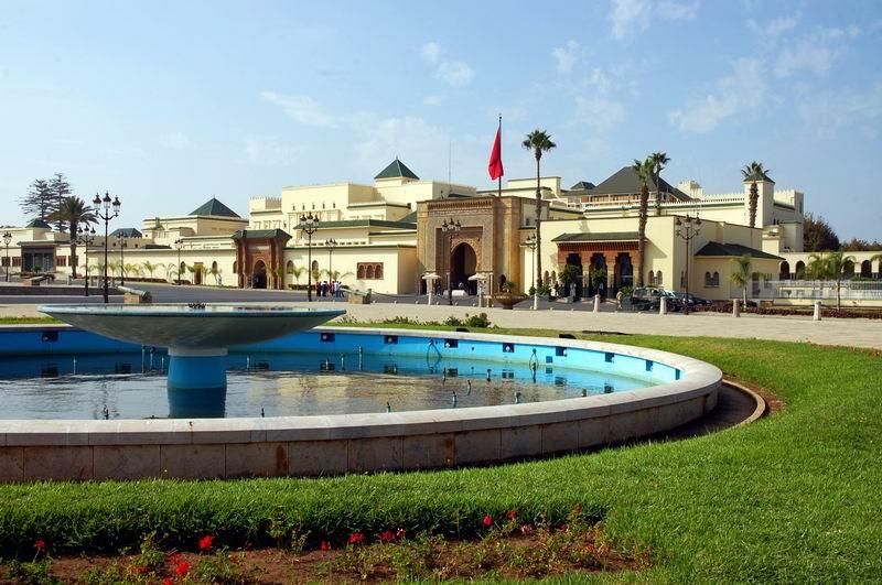 מרוקו - רבאט - ארמון המלך