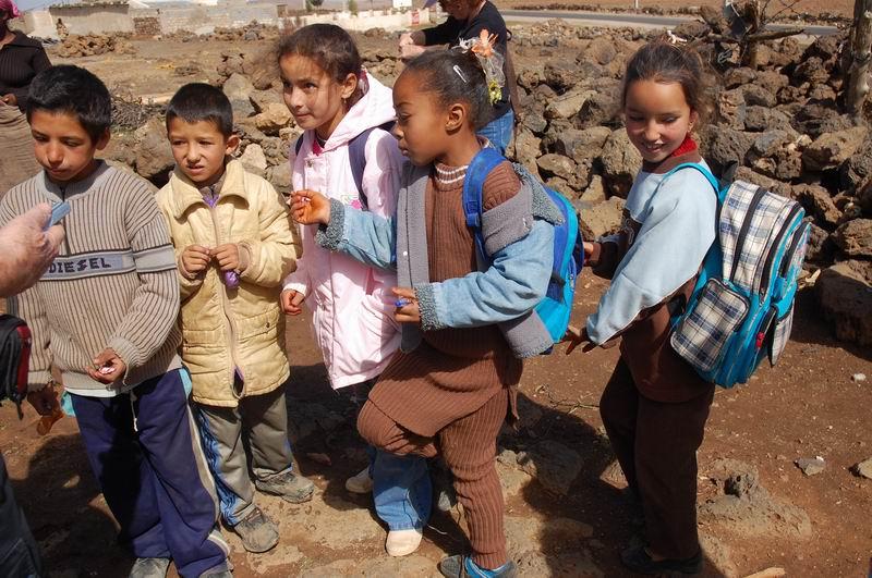 מרוקו - בדרך מבית הספר