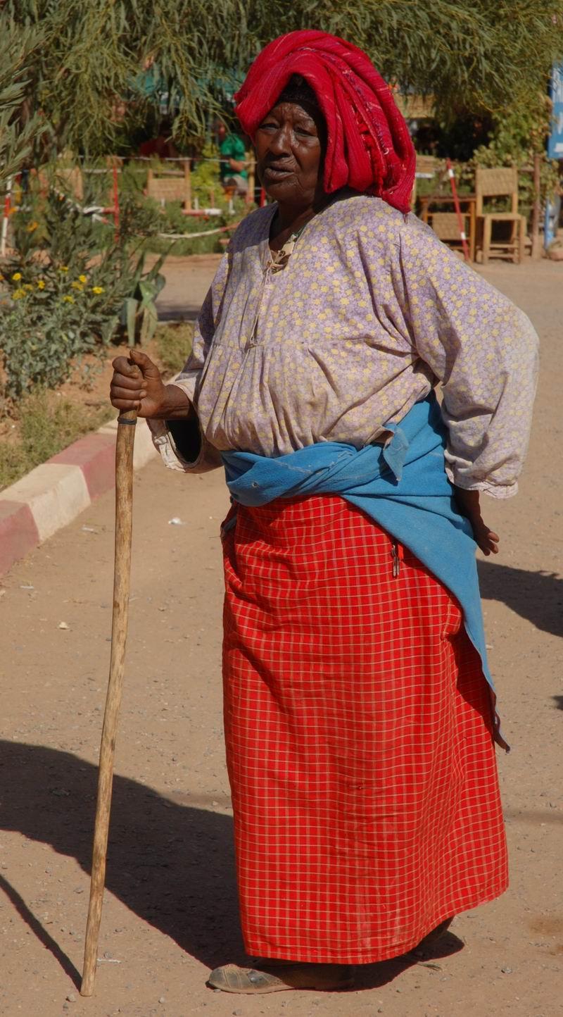מרוקו - זקנה צבעונית