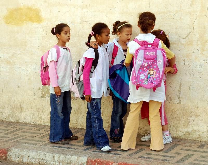 מרוקו - חבורת תלמידות