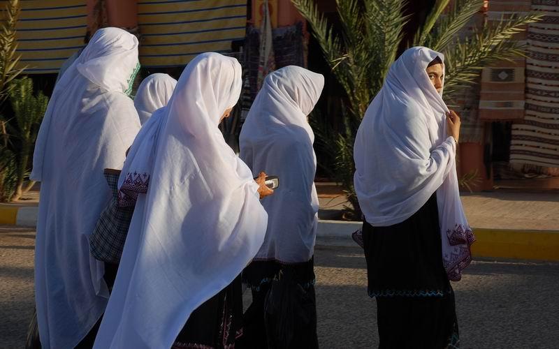 מרוקו - נערות חסודות