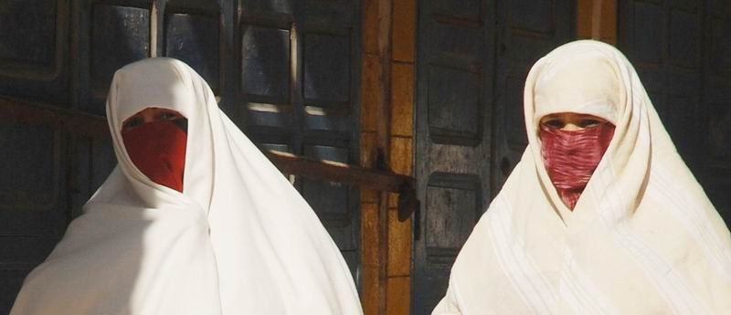 מרוקו - נשים בלבן