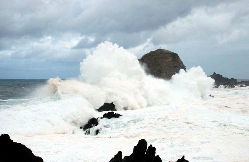 מדירה - ים סוער בחוף פורטו מוניז