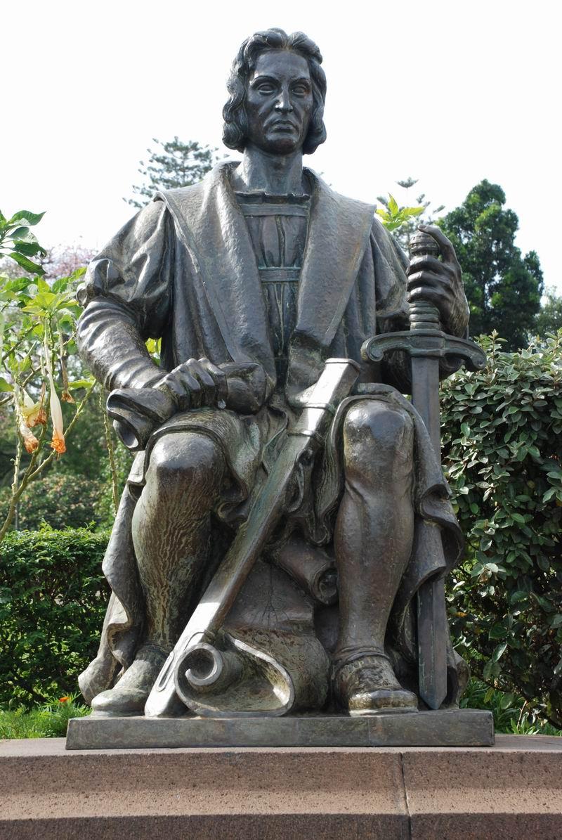 מדירה - פסל קולומבוס