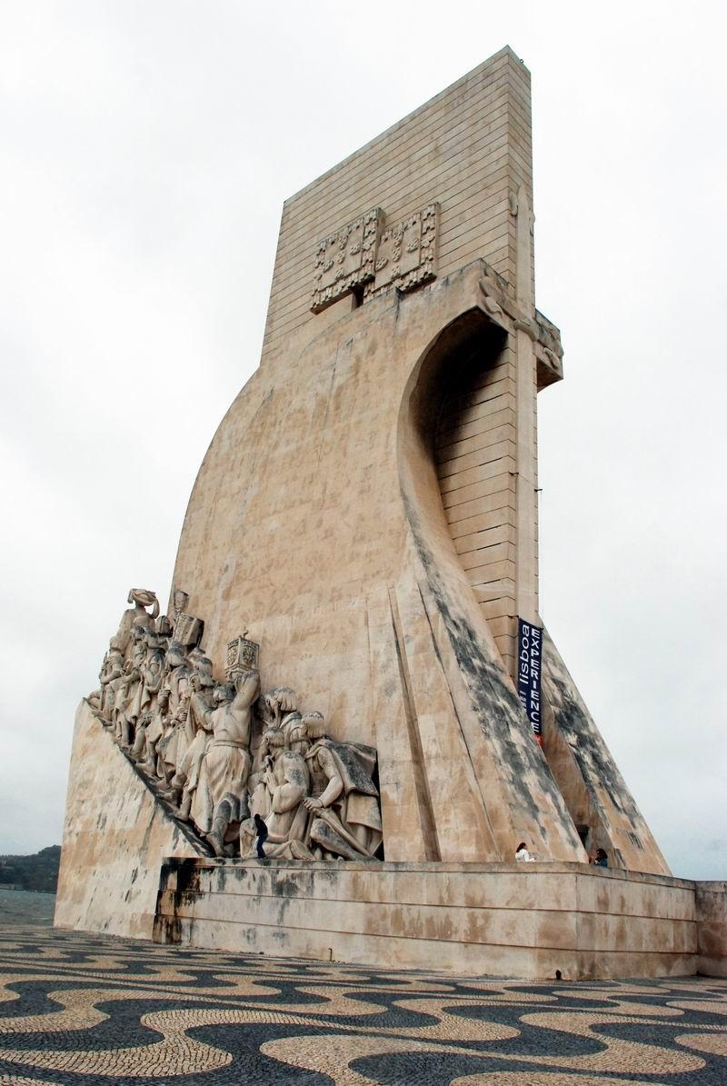 פורטוגל - ליסבון - אנדרטת מגלי הארצות