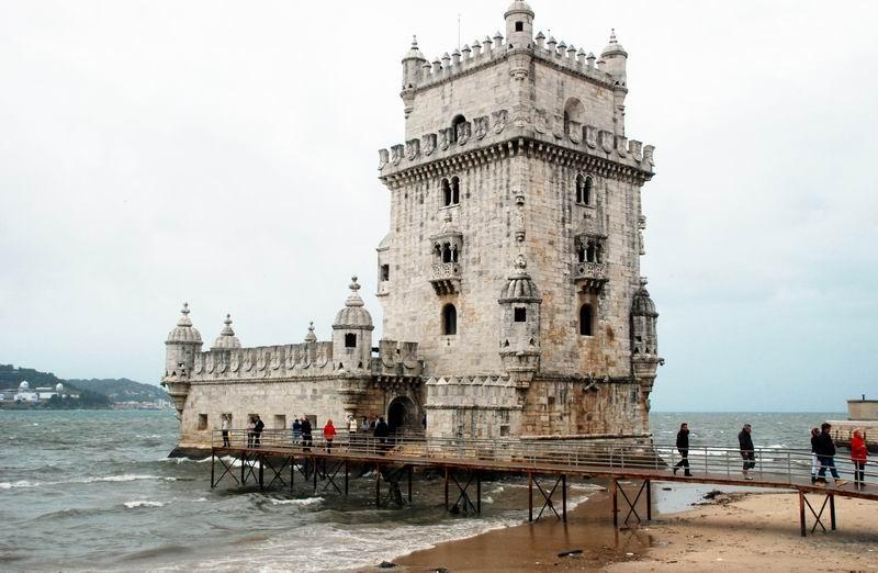 פורטוגל - ליסבון - מצודת הים