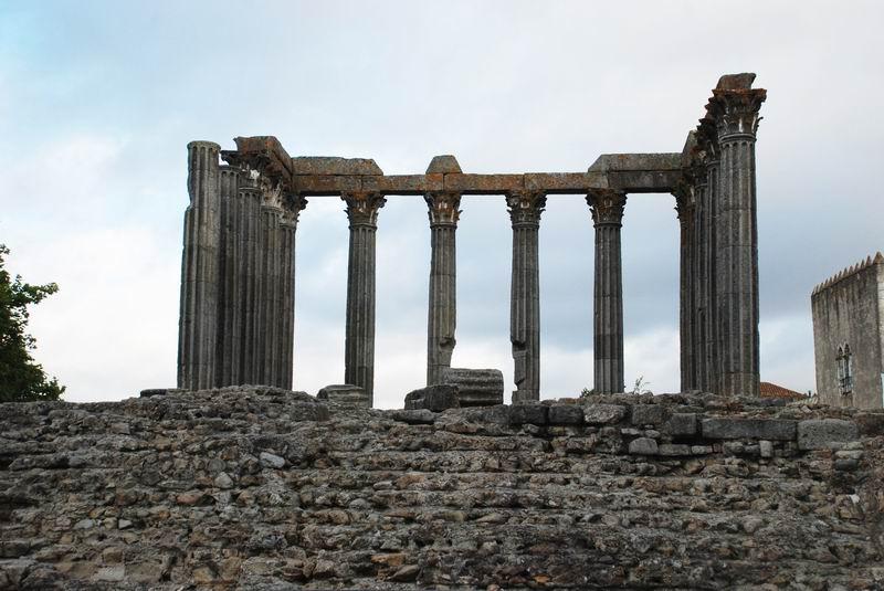 פורטוגל - מדרה - שרידי מקדש רומי