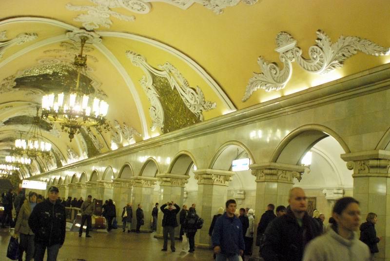 רוסיה - מוסקבה - במטרו