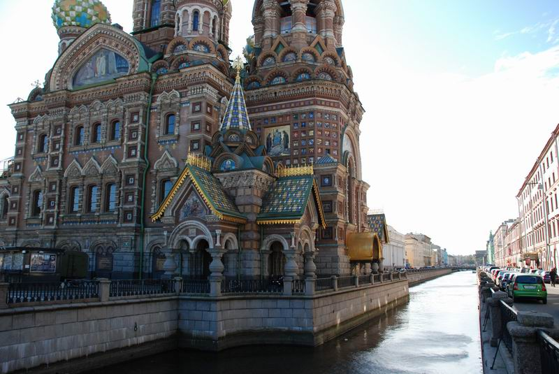 רוסיה - סנט פטרבורג - כנסיית הדם השפוך