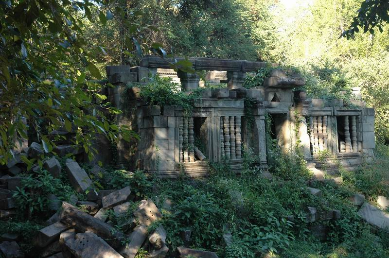 קמבודיה - מקדש הג'ונגל, באן מילה