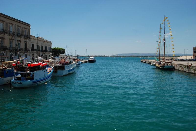 סיציליה - אורטיז'ה - היציאה לים