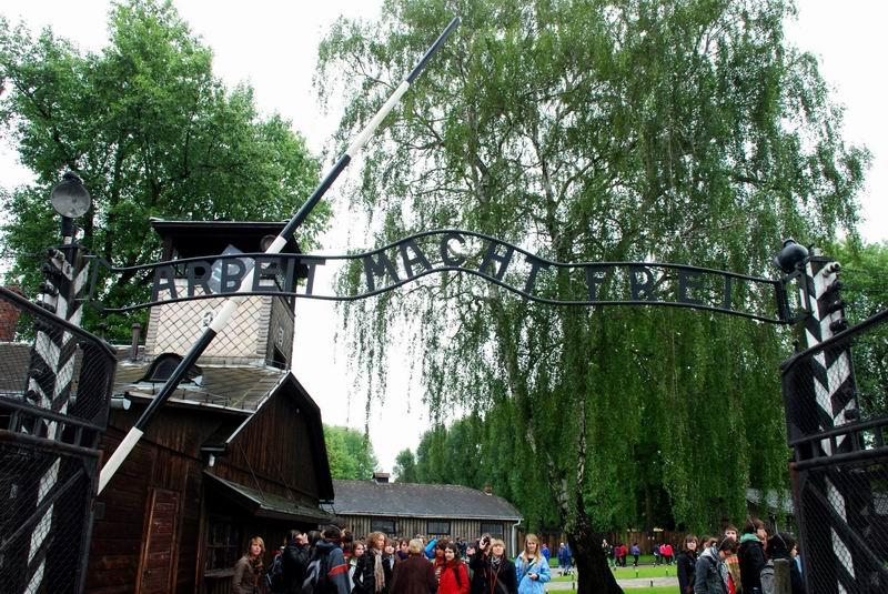 פולין - אושוויץ - שער הכניסה