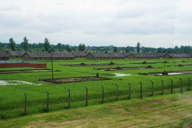 פולין - בירקנאו - המחנה כיום