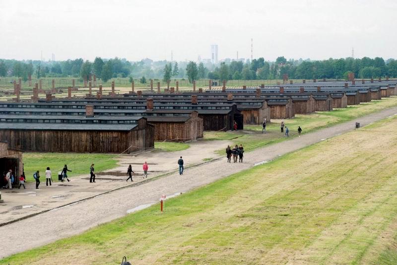 פולין - בירקנאו - המחנה