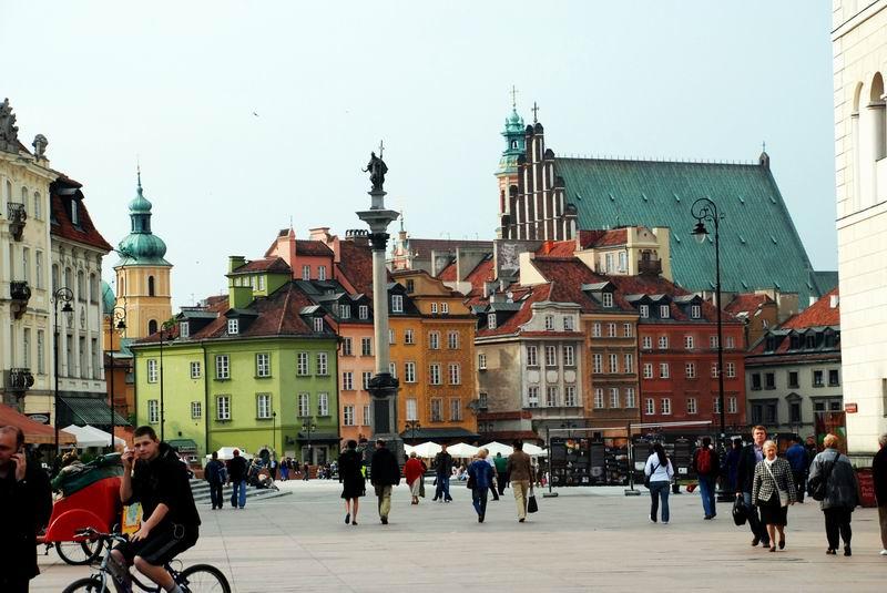 פולין - ורשה - העיר העתיקה