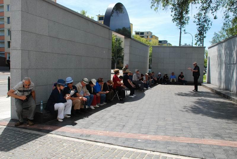 פולין - ורשה - כיכר השילוחים