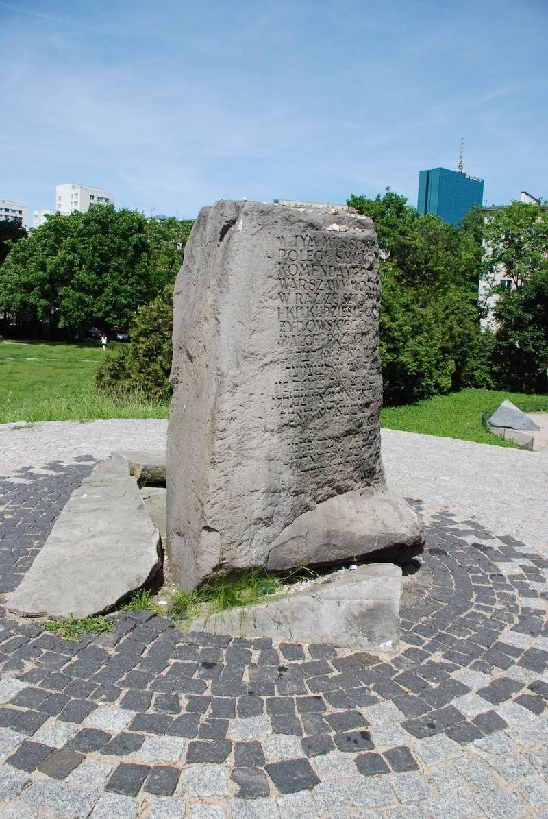 פולין - ורשה - מקום בונקר אנילביץ