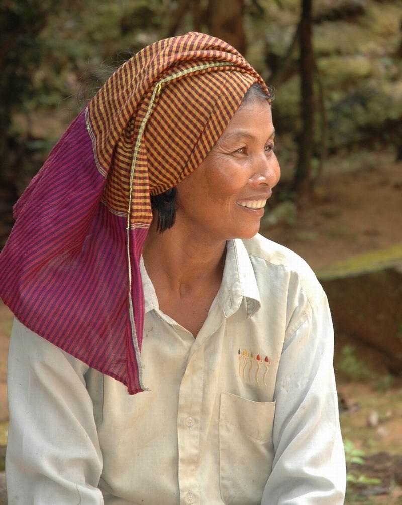 קמבודיה - אישה