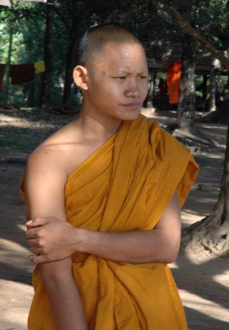 קמבודיה - נזיר חתיכי