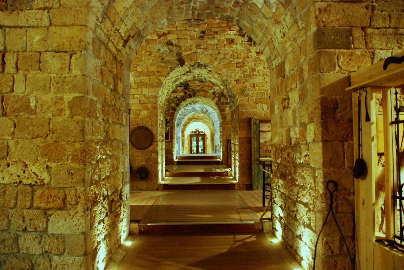 עכו - מוזיאון אוצרות בחומה