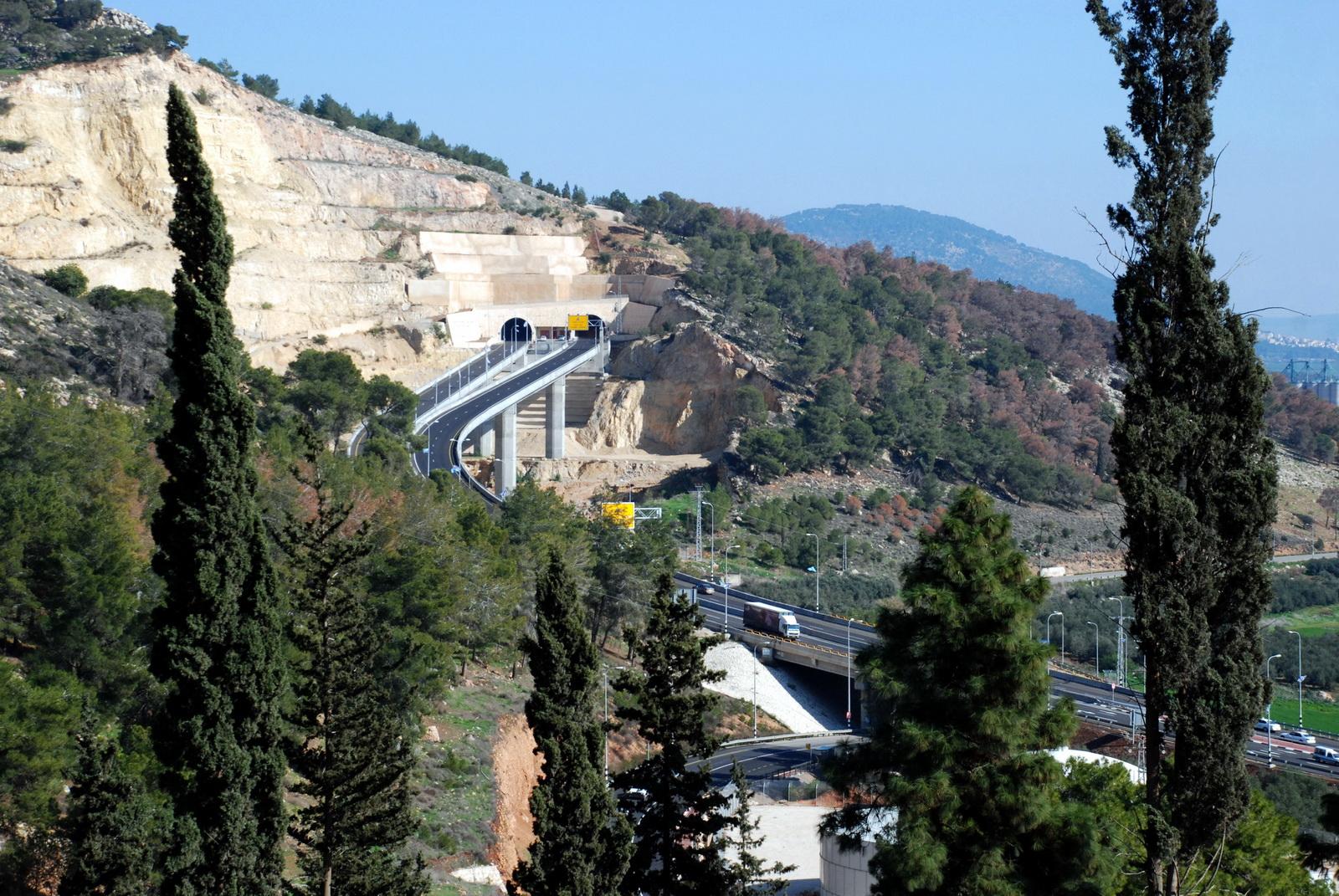 נצרת - כביש המנהרות