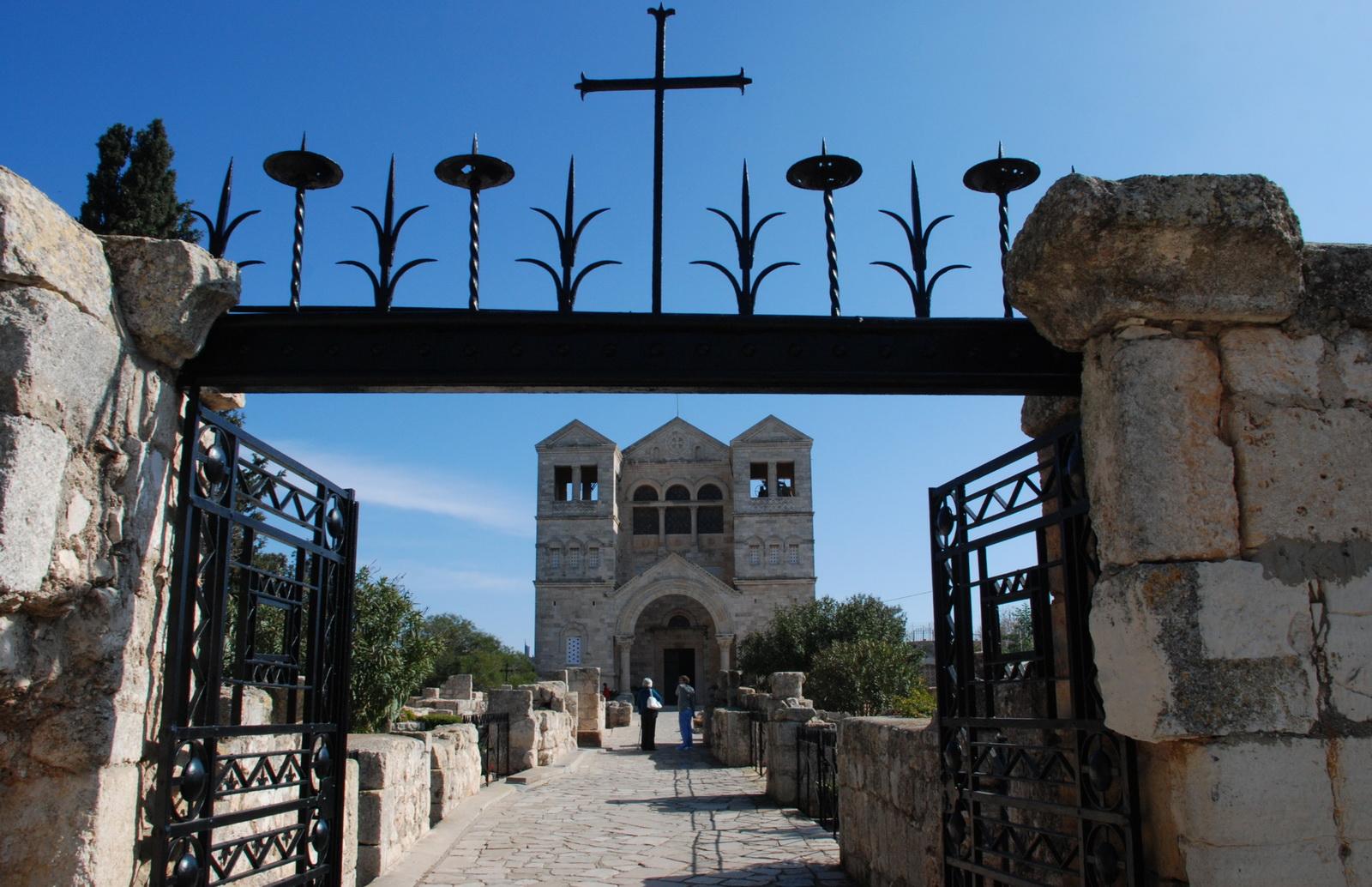 תבור - הכנסייה הפרנציסקנית - חוץ