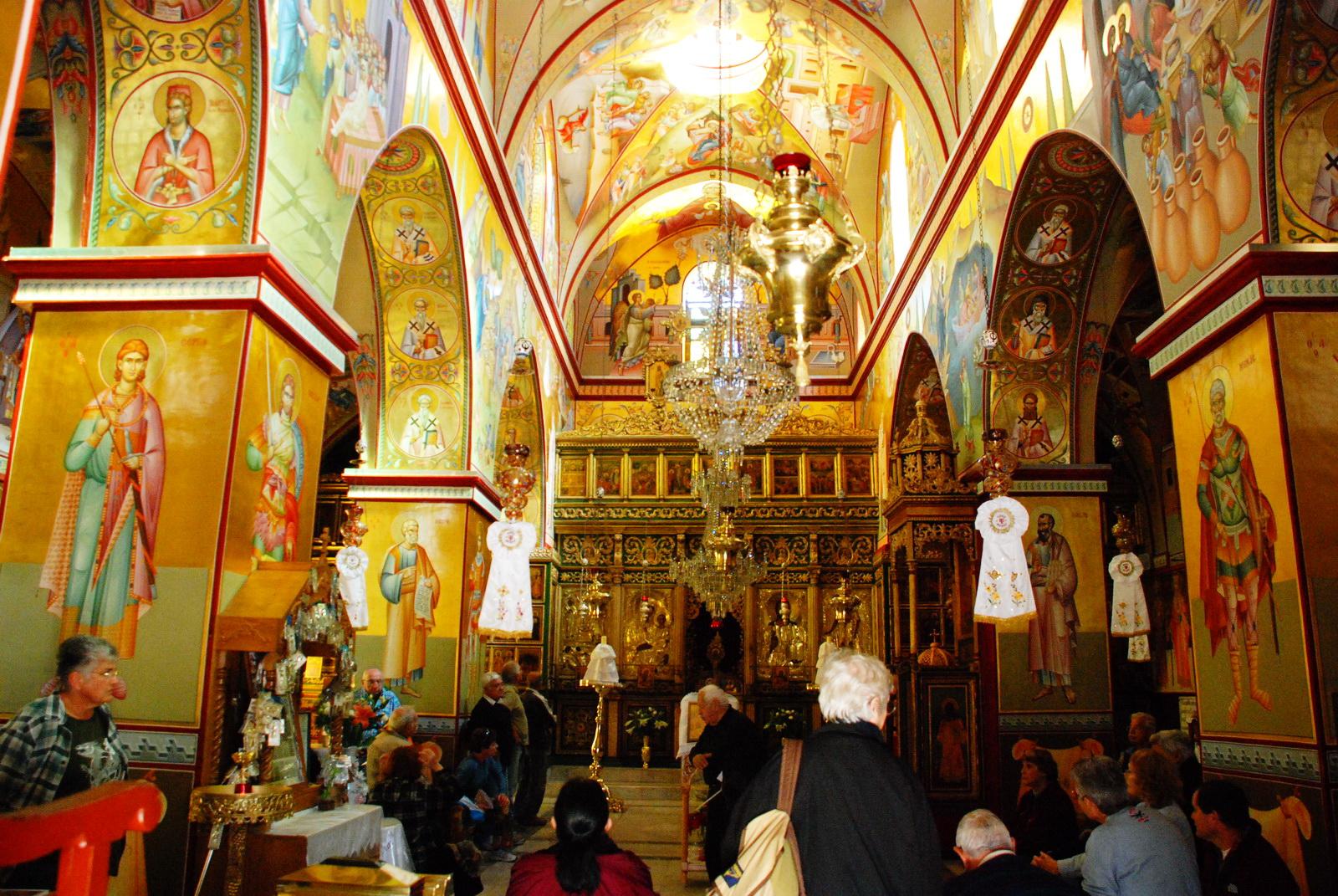 תבור - הכנסייה היוונית