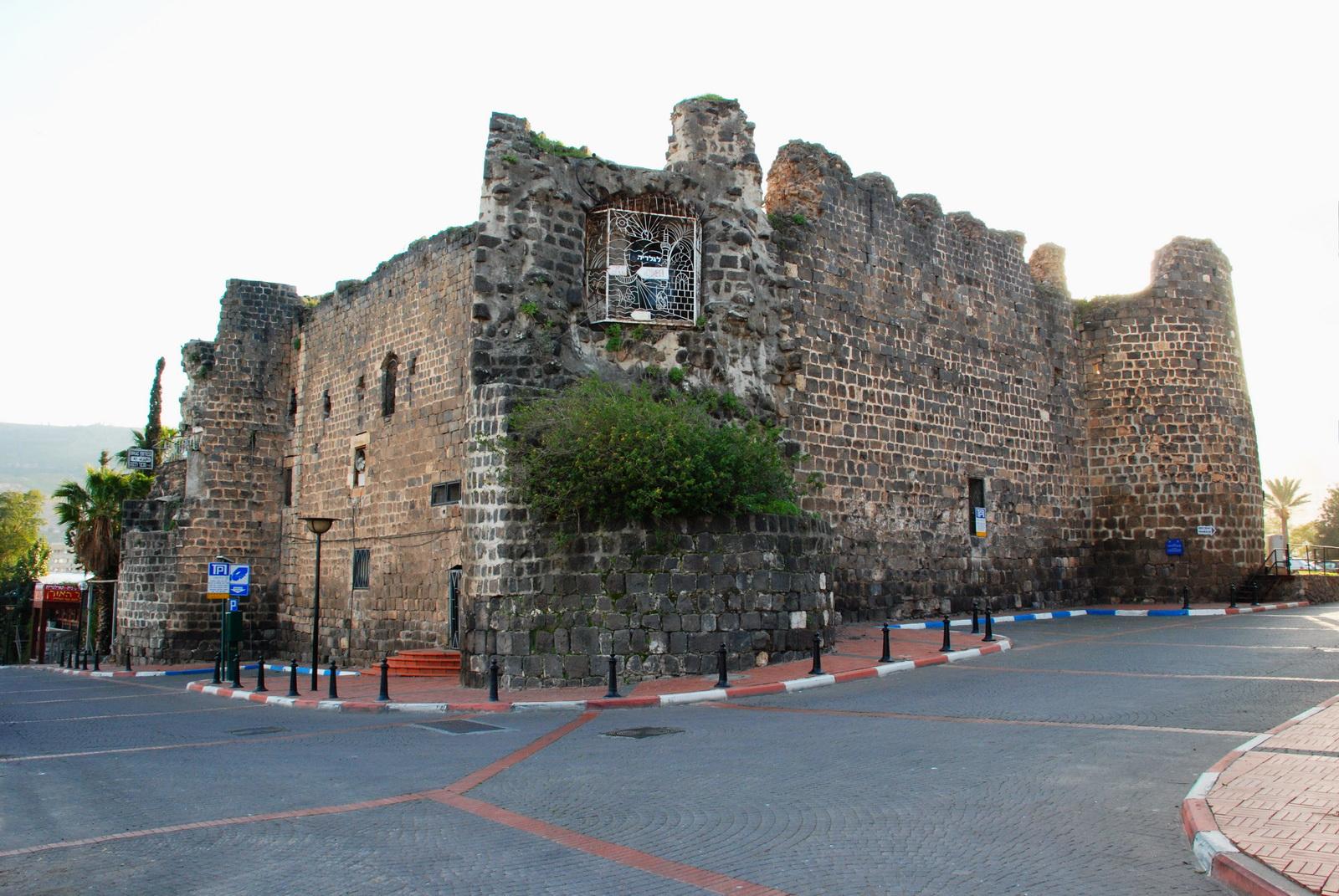 טבריה - המצודה