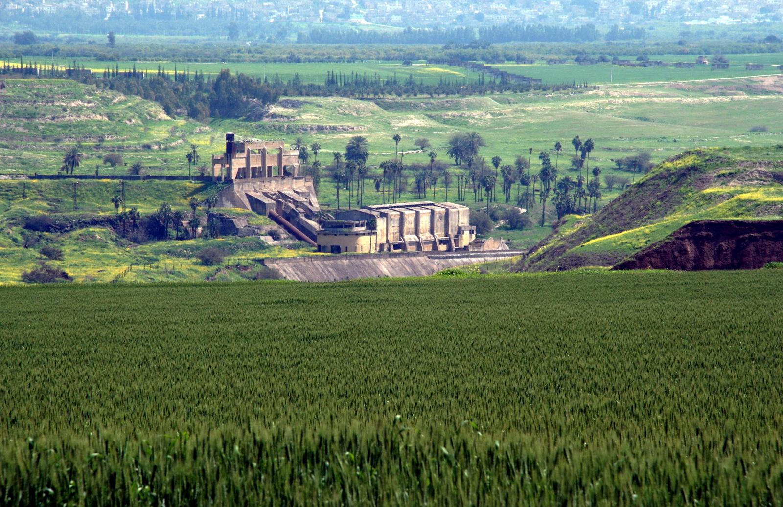 נהריים - מבנה הטורבינות