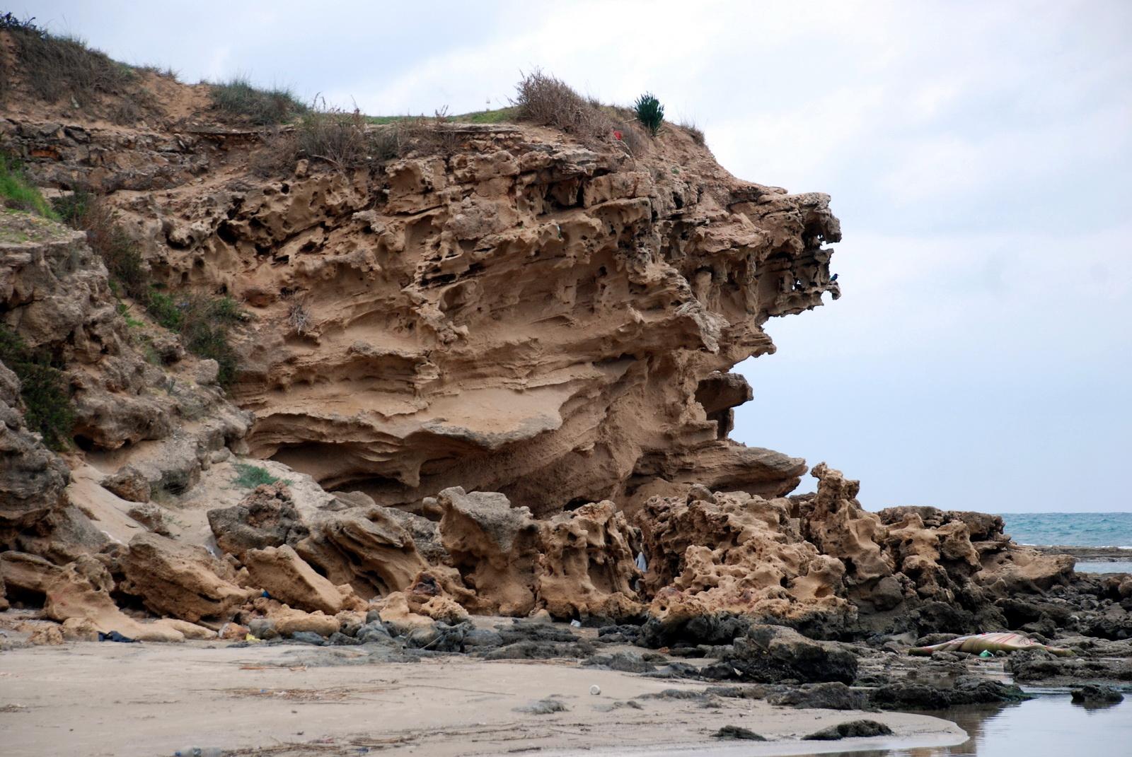 ג'יסר א' זרקא - חוף הים