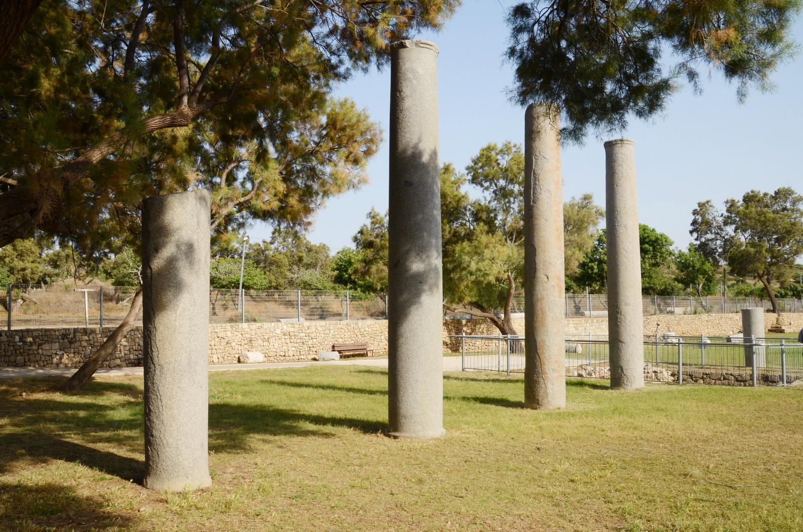 אשקלון - הגן הארכיאולוגי