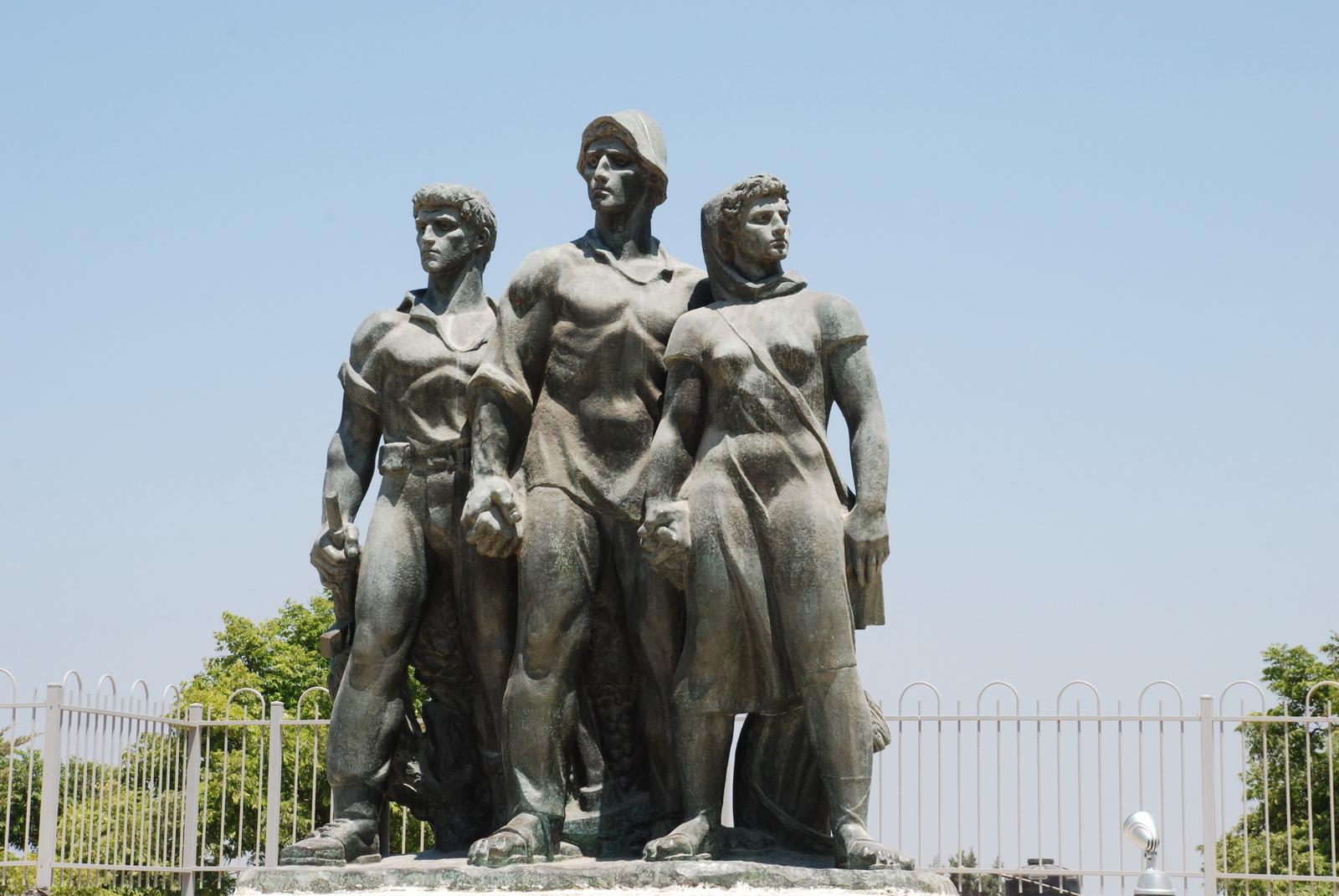 נגבה - האנדרטה לחללח מל' העצמאות