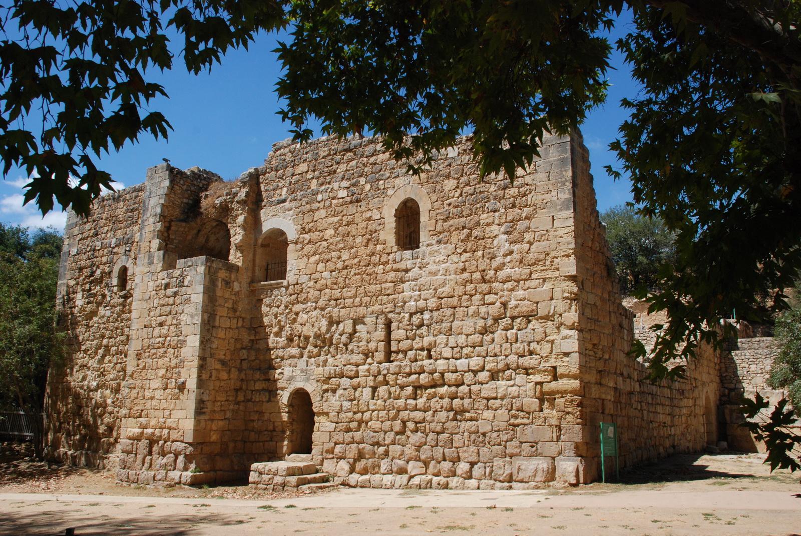 מבואות ירושלים - עין חמד - המצודה הצלבנית