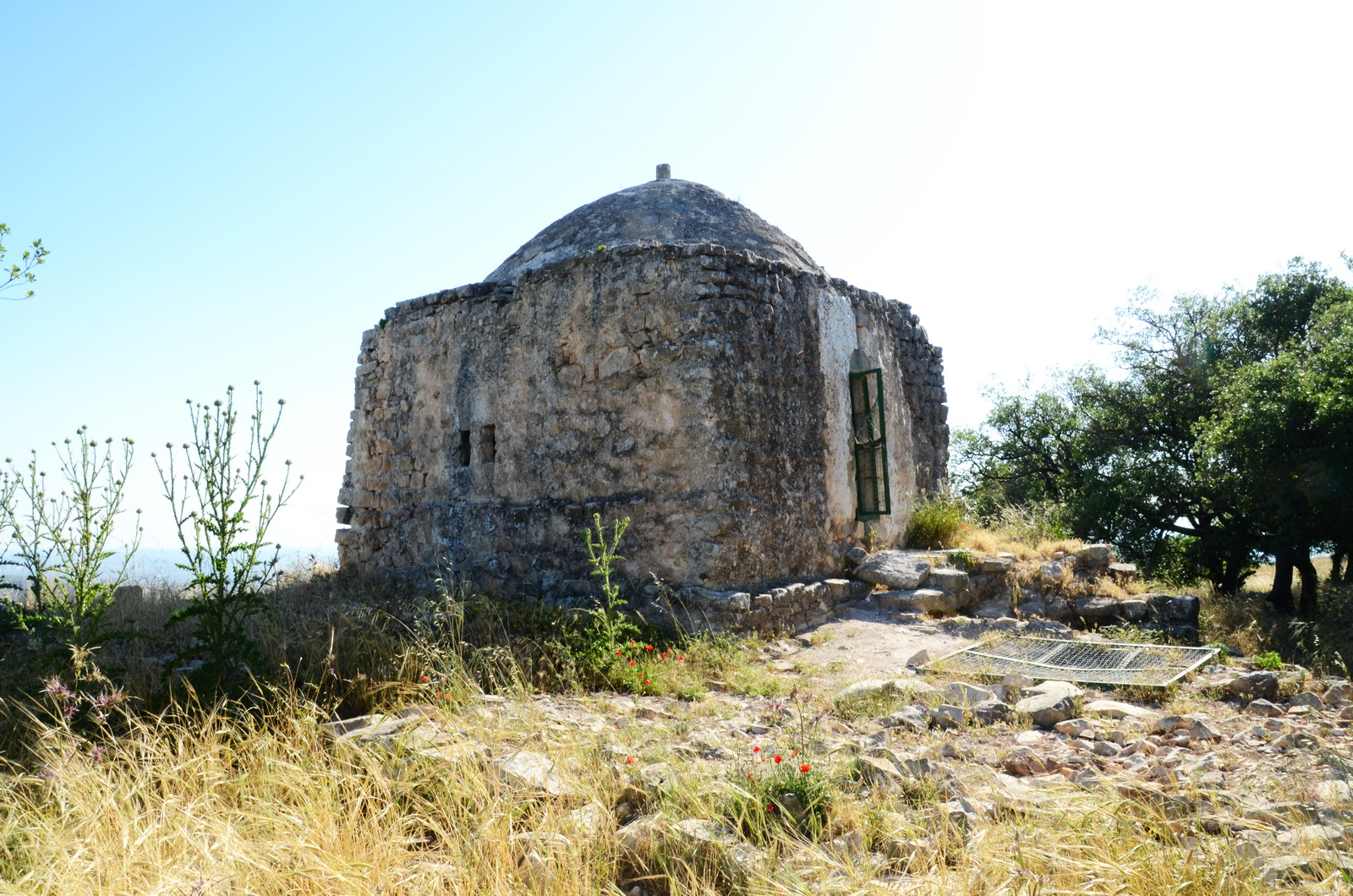 שומרון - יצהר -  קבר שייח' סולימאן אל פרסי