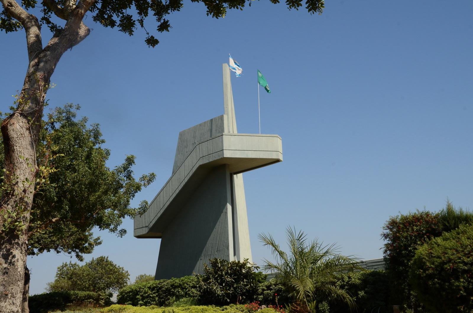 אנדרטת נופלי מגב - בואדי ערה