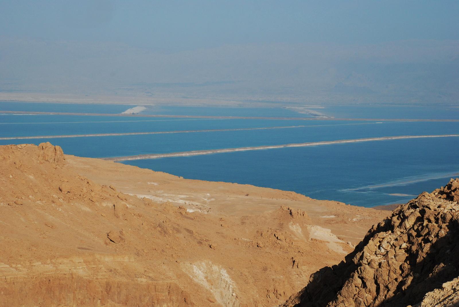 ים המלח - האגן הדרומי - בריכות כריית המפעל
