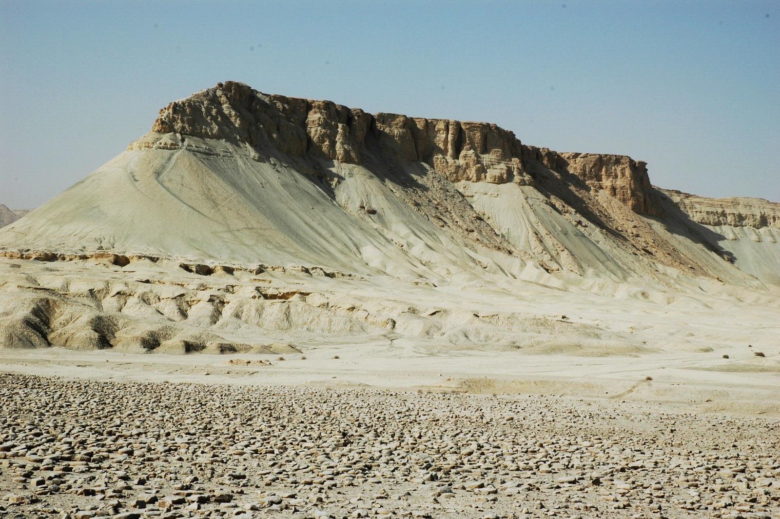 הערבה התיכונה - הר צין = הור ההר