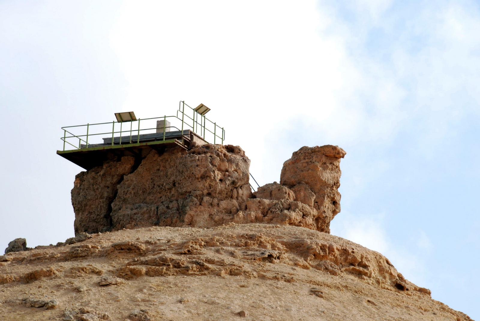 מצפה רמון - תצפית הגמל