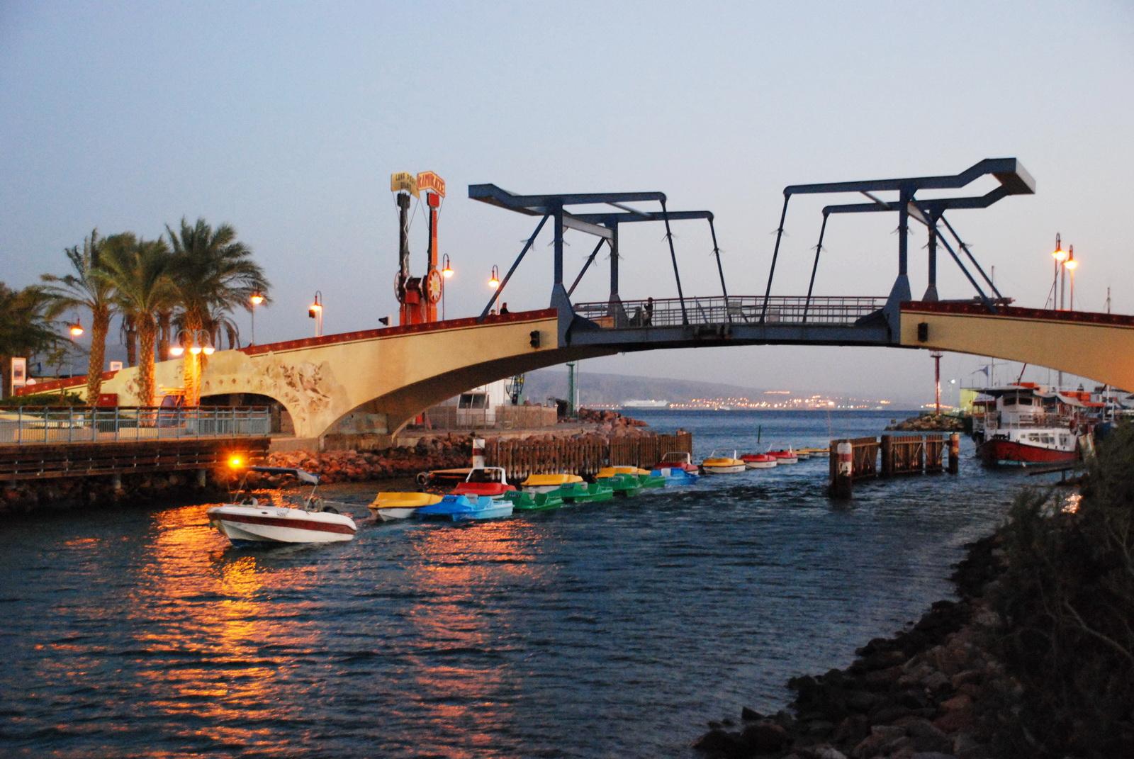 אילת - גשר הלגונה