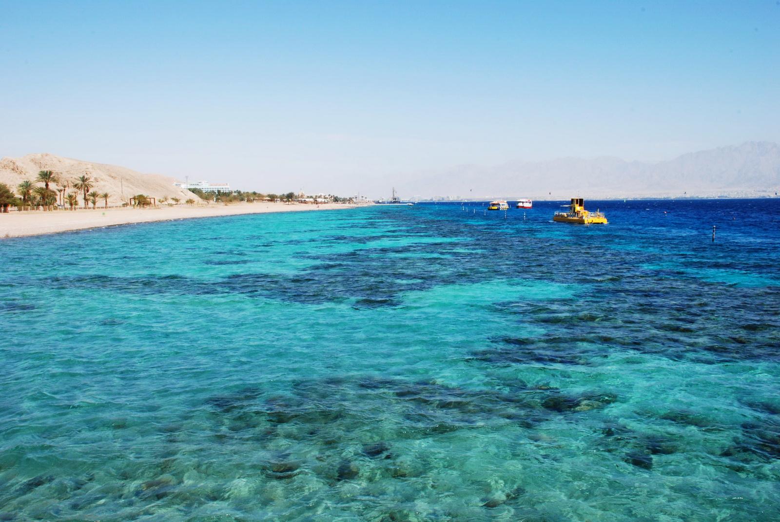 אילת - חוף הים