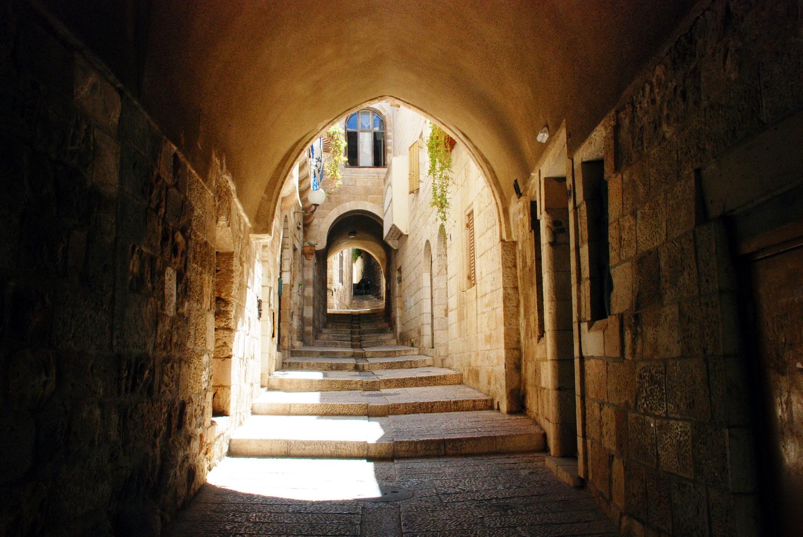 ברובע היהודי