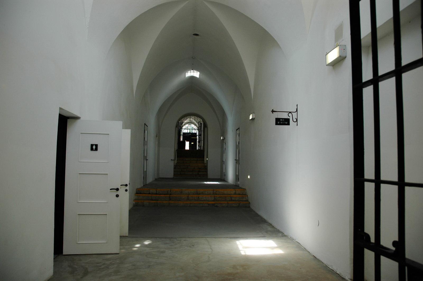 מוזיאון המחתרות - מסדרון